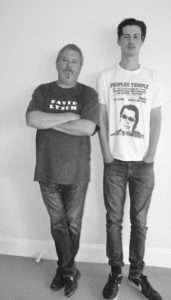Brian and hip hop artist Jacob Pugh