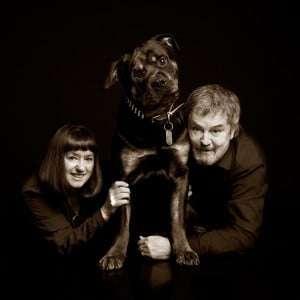 Meredith & Brian with best boy Atticus